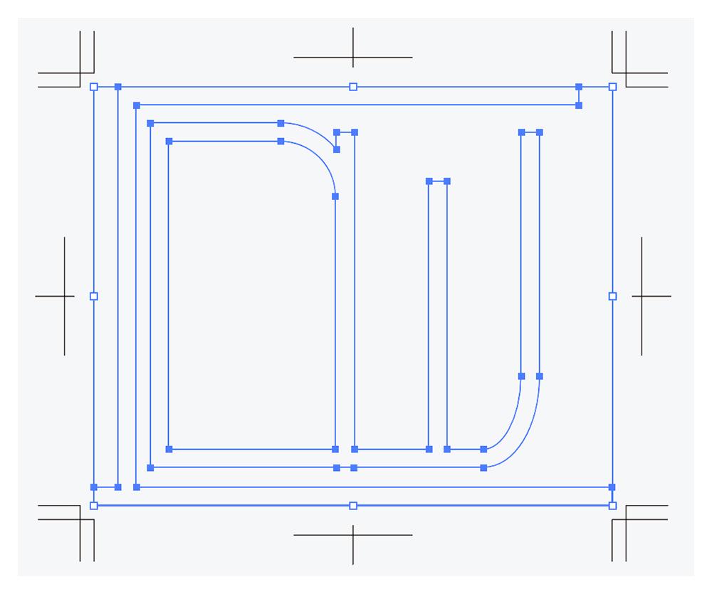 手書きロゴ・イラストをデータ化 データ起こし例の画像02